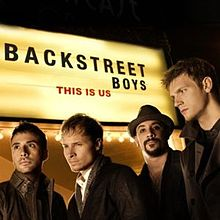 Обкладинка альбому «This Is Us» (Backstreet Boys, 2009)