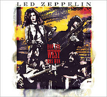 Обкладинка альбому «How the West Was Won» (Led Zeppelin, 2003)