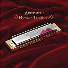 Обкладинка альбому «Honkin' on Bobo» (Aerosmith, 2004)