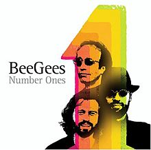 Обкладинка альбому «Number Ones» (Bee Gees, 2004)