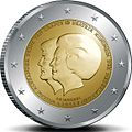€2 commemorative coin Netherlands 2013.jpg