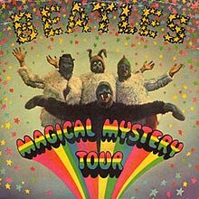 Обкладинка альбому «Magical Mystery Tour» (The Beatles, 1967)