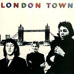Обкладинка альбому «London Town» (Wings, 1978)