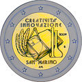 €2 commemorative coin San-Marino 2009.jpg