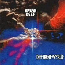 Обкладинка альбому «Different World» (Uriah Heep, 1991)