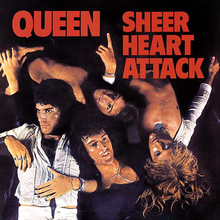 Обкладинка альбому «Sheer Heart Attack» (Queen, 1974)