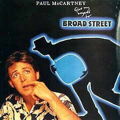 Обкладинка альбому «Give My Regards to Broad Street» (Пола Маккартні, 1984)