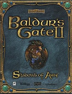 Обкладинка для Baldur's Gate II: Shadows of Amn