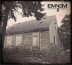 Обкладинка альбому «The Marshall Mathers LP 2» (Eminem, 2013)