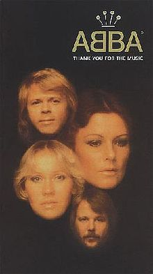 Обкладинка альбому «Thank You For The Music» (ABBA, 1994)