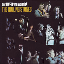 Обкладинка альбому «Got Live If You Want It!» (The Rolling Stones, 1966)
