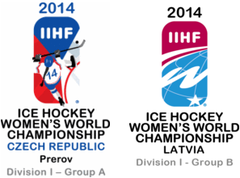 2014 IIHF Ice Hockey Women's World Championship Division I Logo.png