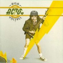 Обкладинка альбому «High Voltage» (AC/DC, High Voltage  (1976))