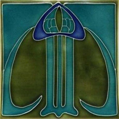Art Nouveau Tiles 04