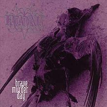 Обкладинка альбому «Brave Murder Day» (Katatonia, 1996)