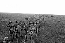 Manchurian Offensive Operation. Soviet soldiers on foot.jpg