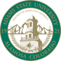 Adams State University seal.png
