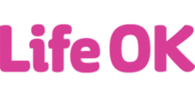 """Life OK"" written in pink text"
