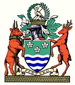 Arms of the former Cumberland County Council