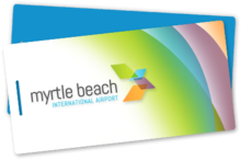 Myrtle Beach International Airport Luggage Tag Logo.png