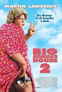 Big Momma puts up two fingers