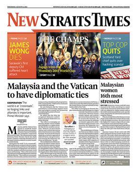 New Straits Times | Newspaper