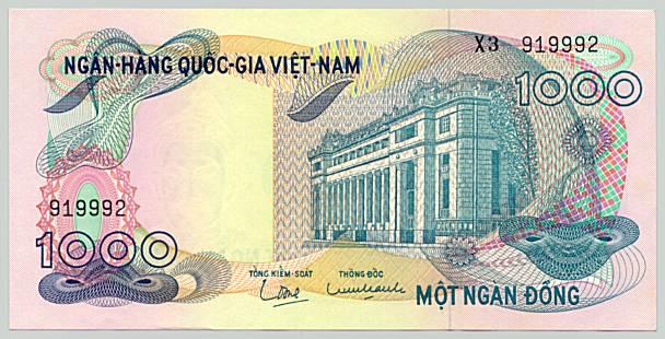 Sưu tập tiền Việt Nam DongVNCH