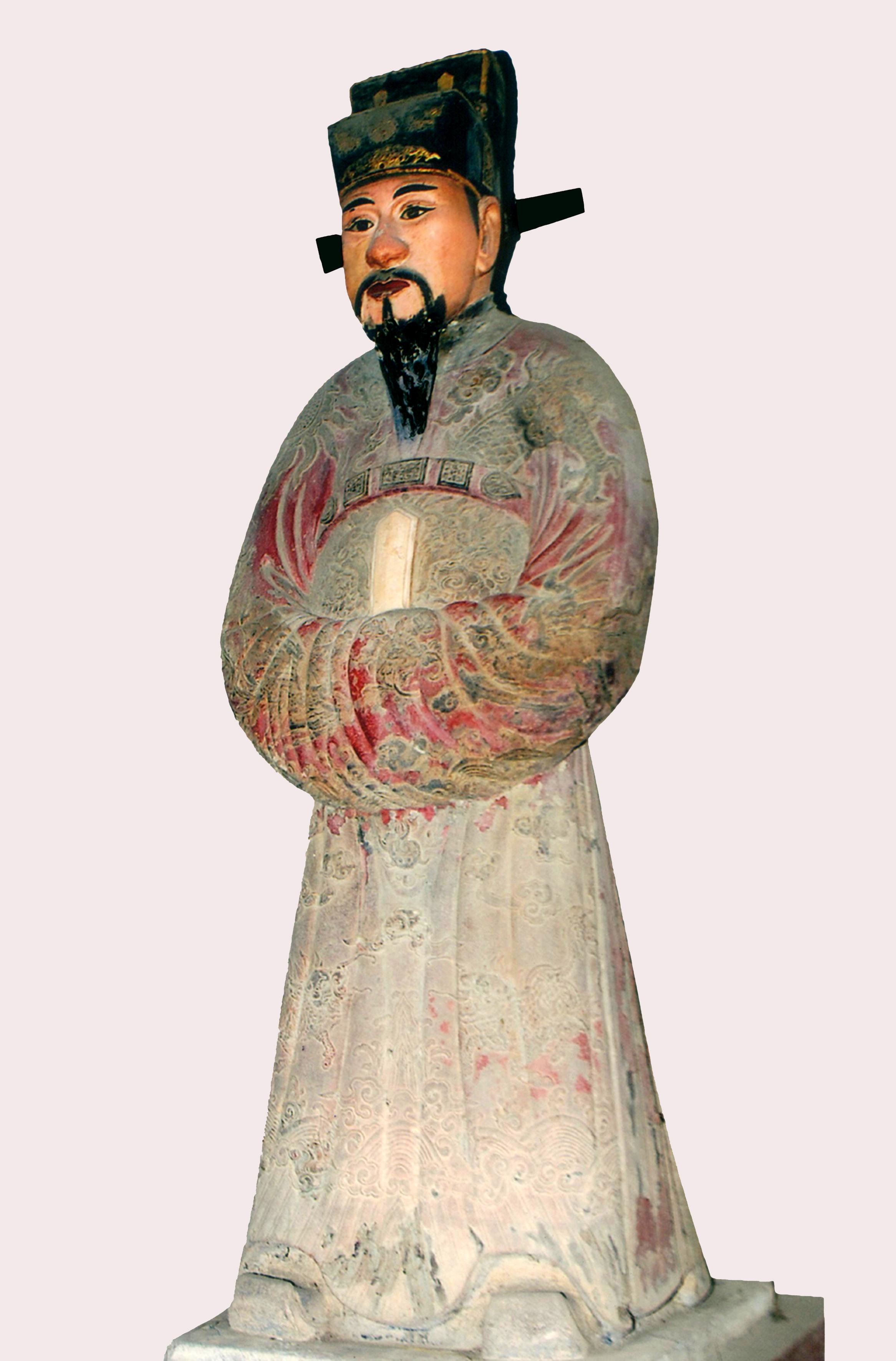 Tượng Tiền Quân Nguyễn Văn Thành Được Tôn Trí Thờ Vào Tháng 5 Năm Gia Long  Thứ 16 (1817) Tại Một Ngôi Miếu Thuộc Đại Nội Huế