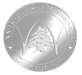 Wikiproject LEBANON Silver Medal.png