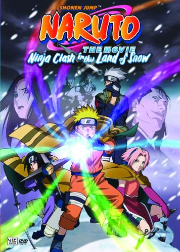 Kết quả hình ảnh cho Naruto the Movie: Ninja Clash in the Land of Snow poster