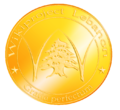 Wikiproject LEBANON Gold Medal.png