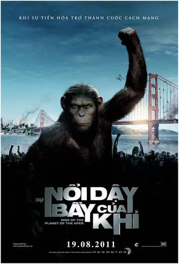 Phim Sự nổi dậy của loài khỉ