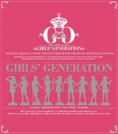 Kết quả hình ảnh cho Girls' Generation: Girls' Generation