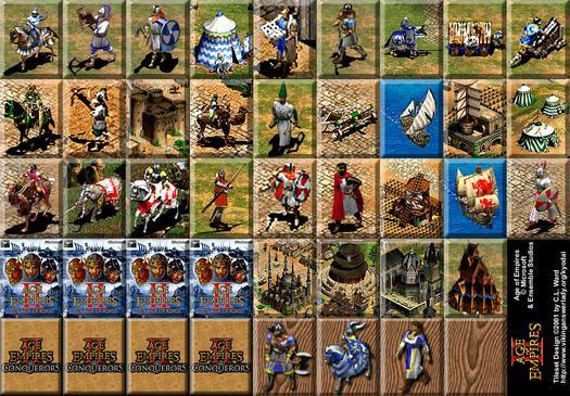 Các đơn vị mới trong Age of Empires II: The Age of Kings và bản tiếp theo  của nó The Conquerors