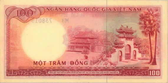 Sưu tập tiền Việt Nam 100South_Vietmanese_%C4%91%E1%BB%93ng1966b