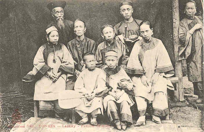 Một gia đình người Hoa tại Lào Cai, thế kỷ 18