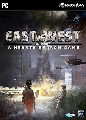 East vs. West - A Hearts of Iron Game CD cover.jpg
