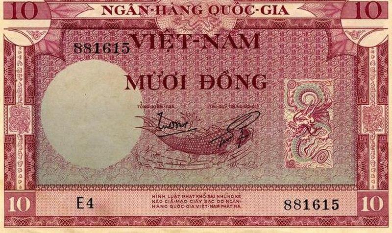Sưu tập tiền Việt Nam 800px-10%28VNCONGHOA%29a
