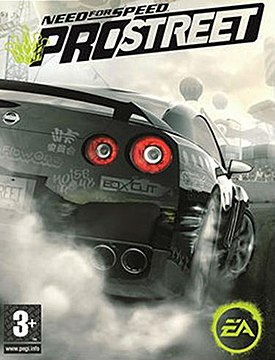 Cover art for Need for Speed: ProStreet