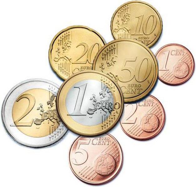 Euro coins v2