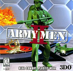 Army Men II CD cover.jpg
