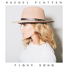 "Single artwork for ""Fight Song"""