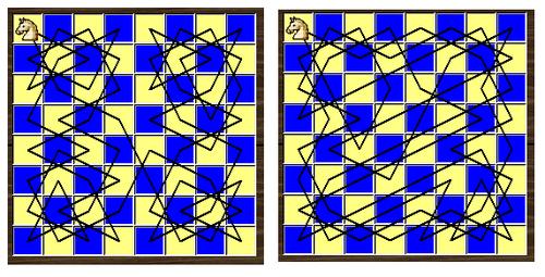 500px Knight 8x8 Bài toán mã đi tuần