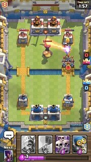 Screenshot of a 2v2 battle