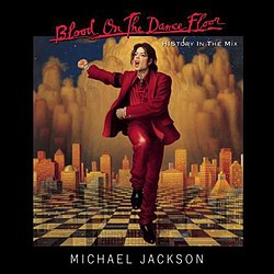 Cover is a picture of Jackson, dancing on a chessboard, skyline and smokey shapes in the background.
