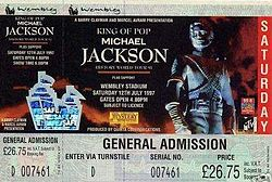 History World Tour Ticket 12 July 1997.JPG