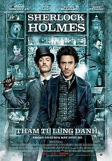 Sherlock Holmes 1 2009 UK Guy Ritchie Rachel McAdams Robert Downey Jr. Jude Law Mark Strong, Eddie Marsan, Action, Adventure, Crime