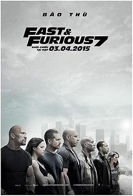 Quá Nhanh Quá Nguy Hiểm 7 - Fast & Furious 7 2015