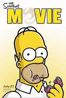 Poster phim The Simpsons Movie.jpg