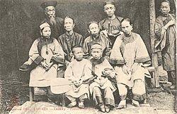 Một gia đình người Hoa tại Lào Cai, thế kỷ XVIII